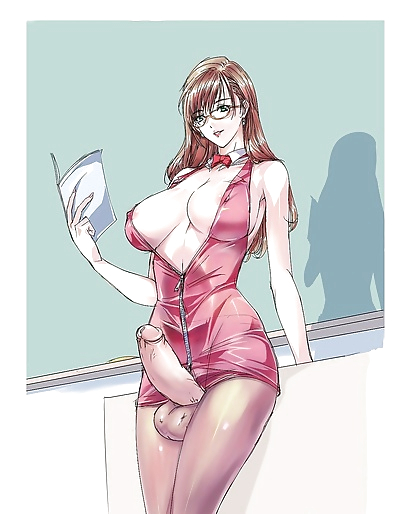 Anime futanari - part 3