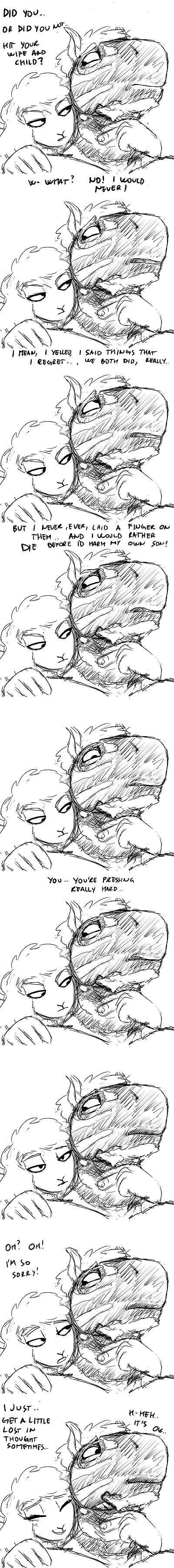 Zebra Dad and Boss Lamb