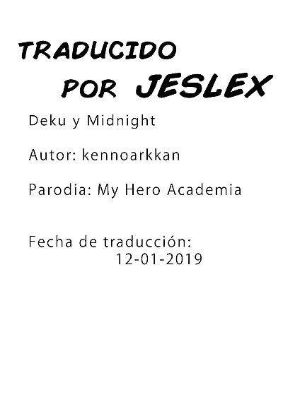 Deku y Midnight