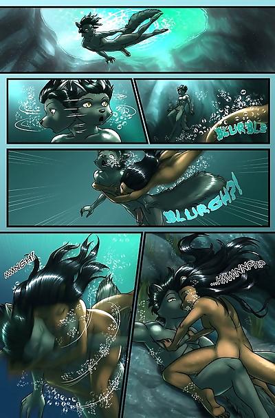 Dark Blue Comics The Depths - part 2