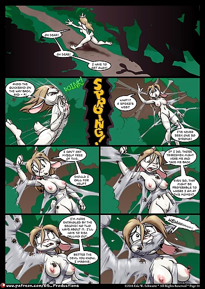 The Magnificent Misadventures of Jane Cottontail CH-1