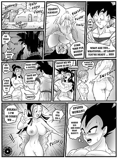 Dark Toons Cave – Saiyan's Wives Priorities Dragon Ball Super